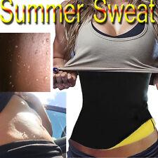Waist Trainer Sweat Belt Body shaper Trimmer Corset Neoprene for Weight Loss V9