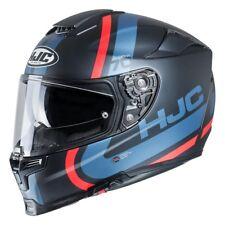 HJC rpha 70 grafica gaon nero blu casco integrale visiera trasparente occhiali