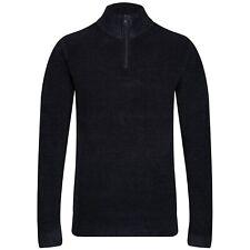 NEXT™ Mens Zip Neck  Soft & Warm Waffle Knit Textured Jumper New Sweater XXL 2XL