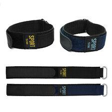 Nylon Watch Band Strap 18mm 20mm Belt Stripe Fiber Fabric Strap Sport for Mens