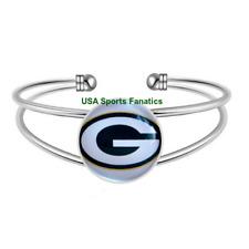 35bc9bfc7 NFL - Green Bay Packers Team Logo Adjustable Bangle Bracelet