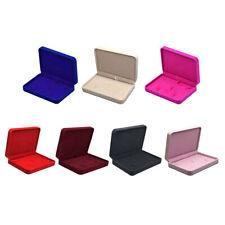 Schmuckschatulle Schmuckkästchen Schmuckbox aus Samt, Kratzschutz