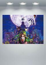 """Legend of Zelda Game Poster Geek Art 33x47/"""" Triforce Print Wall Decor A279"""