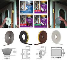 Stormguard Draught Excluder - Self Adhesive Weather Strip - Window and Door Seal