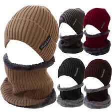 Beanie Neck Scarf Faux fur Set Unisex Hot Cap Hat TM-8010