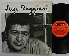 Jacques Canetti presente SERGE REGGIANI French POLYDOR LP LPL 1434 2Y gatefold