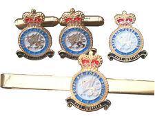 RAF Police Royal Air Force Cufflinks, Tie Clip Lapel Badge Set or Individual