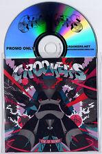 CROOKERS Tons Of Friends 2010 UK 20trk promo test CD Soulwax Kelis Pitbull