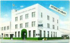 c. 1950s LAKELAND, FL, PEOPLES BANK OF LAKELAND, DIGITAL CLOCK VIEW POSTCARD