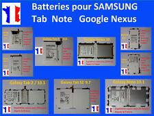 Batterie interne neuve pour tablette Samsung Tab 1 2 3 4 7 10 Note A S E S2 ...