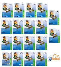 High GLOSS Premium Quality PHOTO PAPER GLOSSY INKJET ETIKETTENWORLD - All Sizes