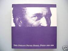 Der Johann Peter Hebel Preis 1936-1988