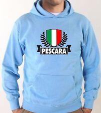 Felpa con cappuccio KJ1507 Pescara Città Ultras Calcio Italia