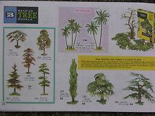 BRITAINS FLORAL & GARDEN, TREE MULTI-LISTING