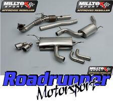 Milltek Golf GTI MK6 Exhaust Turbo Back Resonated & Cat Downpipe 2 x 100mm JET
