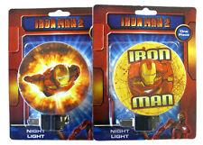 MARVEL IRON MAN 2 Children Night Light Lamp w bulb NEW