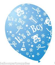 """15.2x30.5cm Azul Globos Estampado """"It's a Boy"""""""
