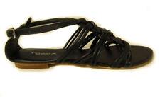 Tosca Blu Chantal sandali intrecciati pelle donna sandalen sandales tissées