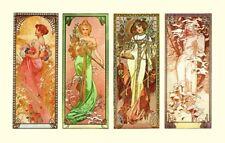 Dance 1898 By Alphonse Mucha AAM025 Art Print A4 A3 A2 A1