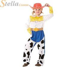 Disney Toy Story Jessie Deluxe Fancy Dress Costume Cowboy Cowgirl Kids Girls