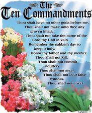 10 Commandment Shirt, List of Biblical Law, Religious Shirt, white t shirt