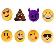 Emoji Pillow Smiley Plush Cushion Cell Phone Emoticon Toy Kissy Message Soft