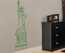 Statue of Liberty New York Large Wall Decal Vinyl Sticker Art Decor Graphic G42