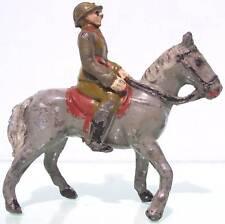 "Belguim Lead 90Mm J.S.B. ""Ww1 Officer On Horse"" Vg"