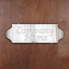 COMPANY OFFICE SCHOOL Door Sign Plaque Signage Personalise Room Acrylic Mirror