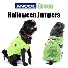 NUOVO Ancol Caldo Maglione Verde Cane Halloween Mostro Costume Vestito