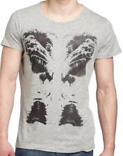 NWT Diesel Men's Graphic Print Slim Fit T-Shirt Short Sleeve Tee Gray Size XXL