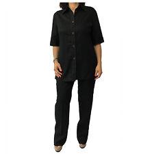 ELENA MIRÒ linea LE TAILLEURS ensemble femme noir pantalon noir