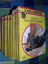 GIALLO MONDADORI  1604 - PATRICIA MOYES - CHI è SIMON WARWICK ?  - 1979