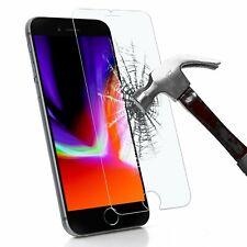 VITRE PROTECTION FILM PROTECTEUR ECRAN VERRE TREMPE iPhone 4/5/S/6/6S/7/Plus/SE