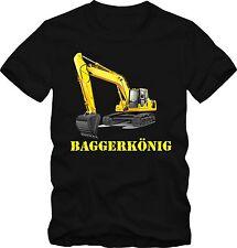 """Bagger T-Shirt   T-Shirt  """"Bagger König""""  T-Shirt  Grafik  T-Shirt  DTG"""
