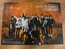 2011 YG FAMILY CONCERT [ORIGINAL POSTER] *NEW* 2NE1 BIGBANG K-POP