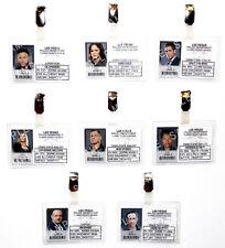 CSI Las Vegas ID Badge Crime Scene Detective Cosplay Prop Costume Gift Comic Con