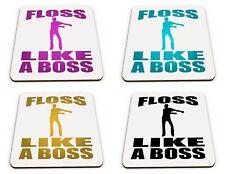 Floss Like A Boss Funny Novelty Gift Glossy Mug Coaster Variation