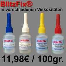 50g 3D-Druck Modellbau Infiltrier-Kleber BlitzFix Sekundenkleber Kapillareigens.