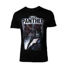 Hommes Avengers Noir Panther Film Noir T-Shirt - Unisexe marvel Tee