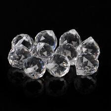 10x Crystal Glass Chandelier Light Ball Prisms Hanging Drop Pendant 20/30MM