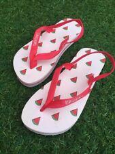 KAPPA Ragazze Bambino Junior Anguria Design Infradito con cinturino alla caviglia.