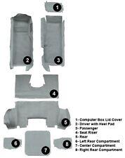 1997 - 2004 Corvette C5 COUPE Carpet Set 8 Piece Set (Mass-Back Truevette)