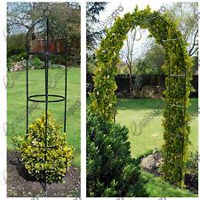 Garden arch &/or obelisk trellis feature climbing plant roses - Multi Buy Deals
