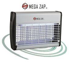 MEGAZAP HD ELECTRIC FLY KILLER - INSECT / BUG ZAPPER GRID 16W 30W 40W