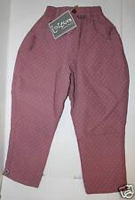 JOTTUM Rose Pink Polka dot Pants  NWT Sz US 6 EUR 116