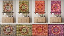 Indian Cotton Peacock Mandala Wall Hanging Tapestry Beach Throw Ethnic Yoga Mat
