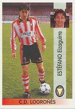 N°311 ESTEFANO EIZAGUIRRE # CD.LOGRONES CROMO STICKER PANINI LIGA 1997