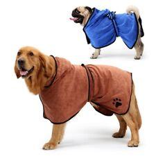 Dog Bathrobe Pet Bath Towel Small Medium Large Microfiber Super Absorbent