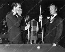 8b20-12747 Martin Landau Tom Smothers shoot a game of pool 8b20-12747